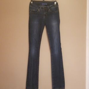 YMI slightly flared blue jeans